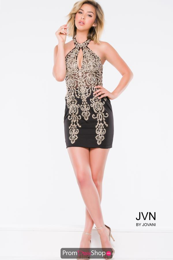 JVN by Jovani Jersey Fitted Dress JVN41467