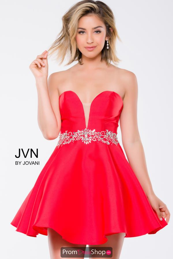 Strapless JVN by Jovani Dress JVN41495