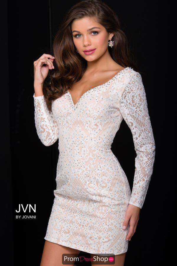 JVN by Jovani Beaded Short Dress JVN41692