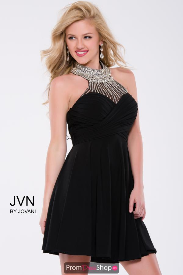 JVN by Jovani Jersey A Line Dress JVN42589