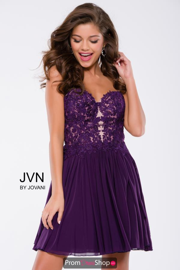 Short A Line JVN by Jovani Dress JVN47312