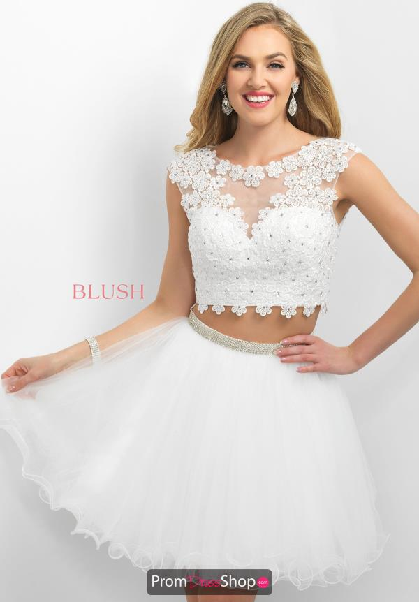 Intrigue by Blush Sleeved Beaded Dress 213