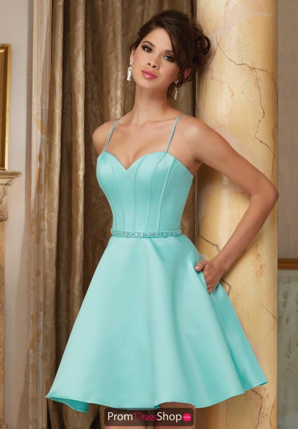 Aqua Homecoming Dresses