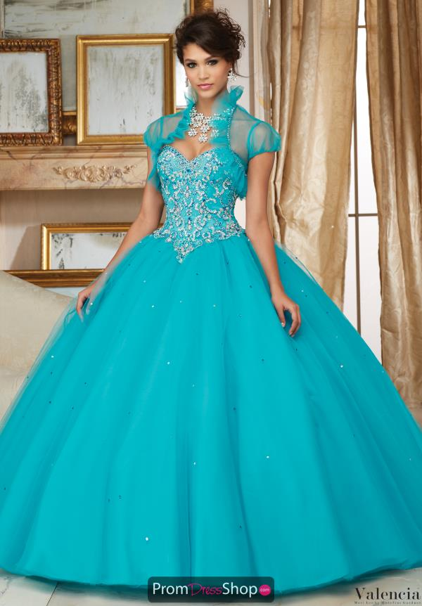 Sweetheart Neckline Beaded Vizcaya Quinceanera Dress 60007