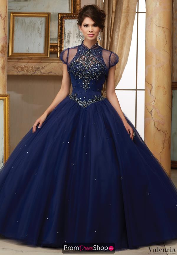 Vizcaya Quinceanera Beaded Ball Gown 60008