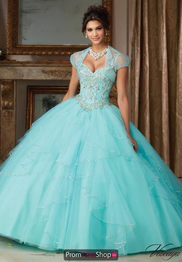 Vizcaya Quinceanera Tulle Skirt Ball Gown 89101