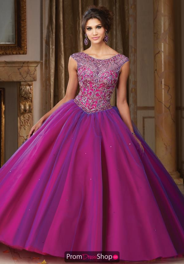 Vizcaya Quinceanera Tulle Skirt Ball Gown 89104