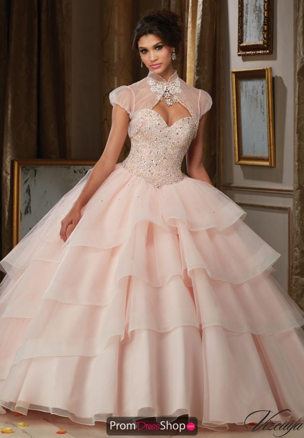 Vizcaya Quinceanera Corset Lace Back Dress 89111
