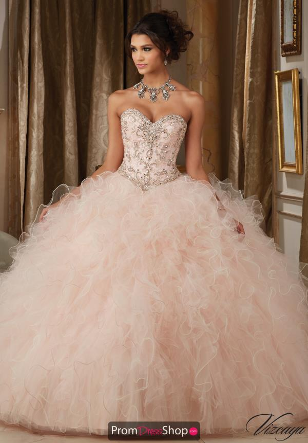 Vizcaya Quinceanera Long Tulle Dress 89113