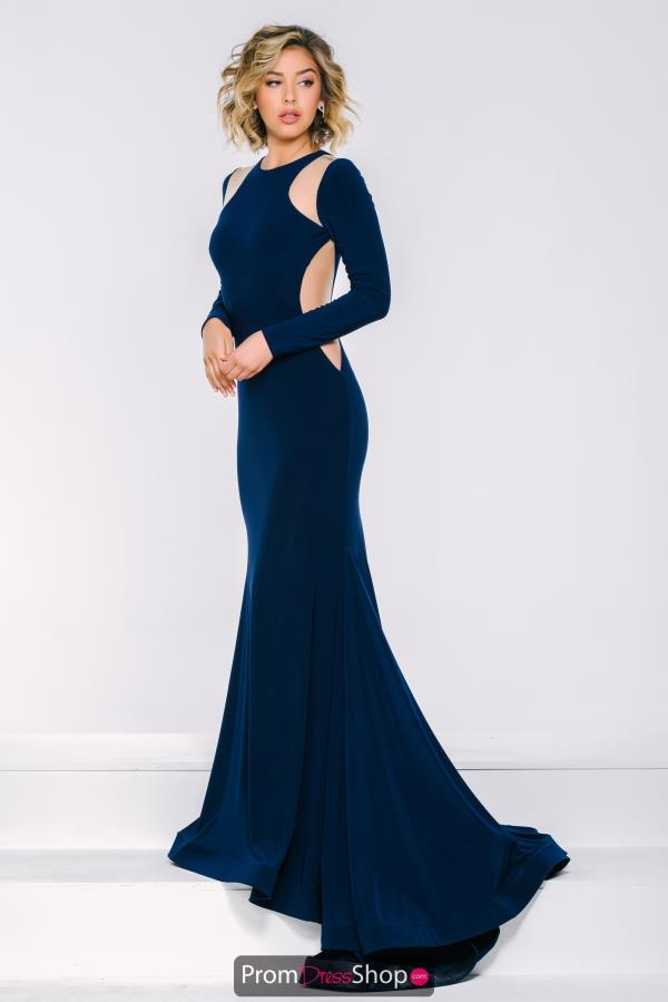 Jovani Long Fitted Dress 35343