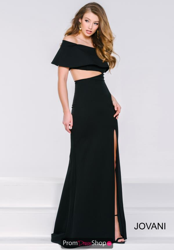 Sleeved Long Jovani Dress 36631