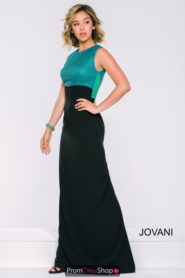 High Neckline Fitted Jovani Dress 39212