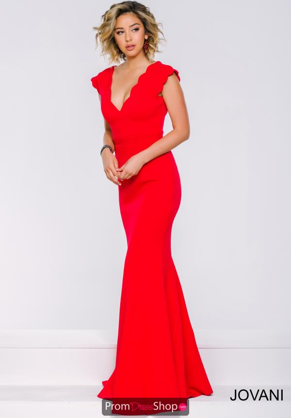 Jovani Long Fitted Dress 39360