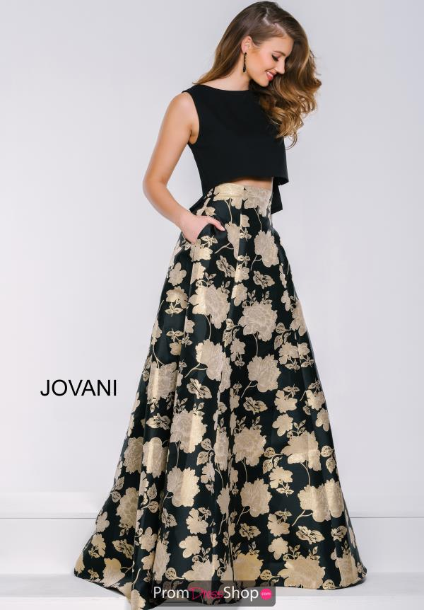 Jovani Long Print Dress 39728