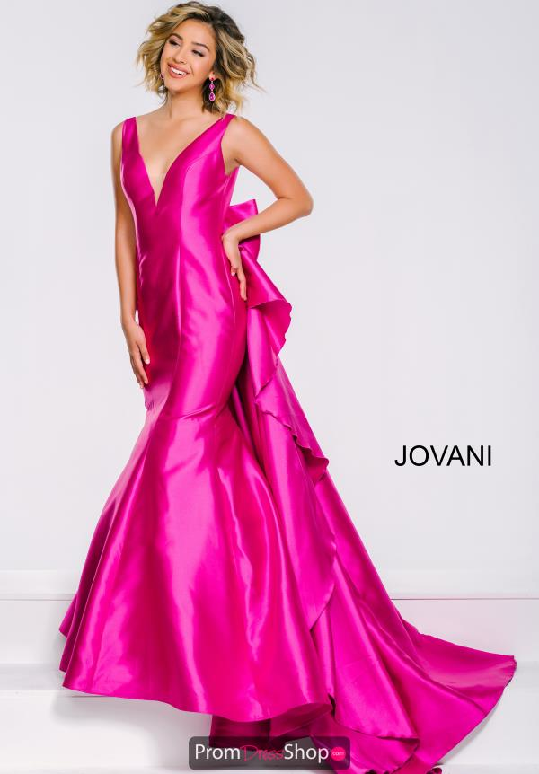 Jovani V- Neckline Mermaid Dress 41644