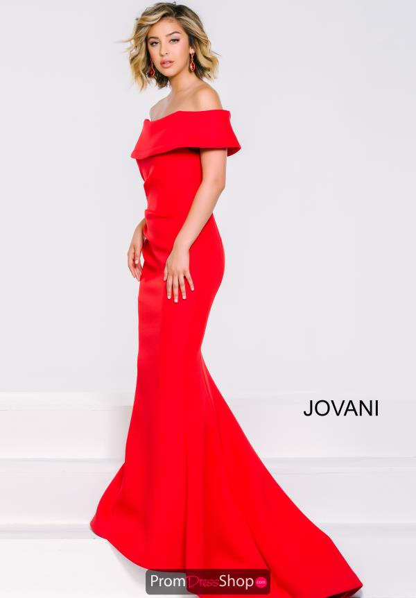Jovani Mermaid Sleeved Dress 42756
