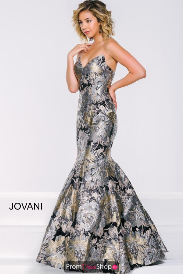 Strapless Fitted Jovani Dress 42866