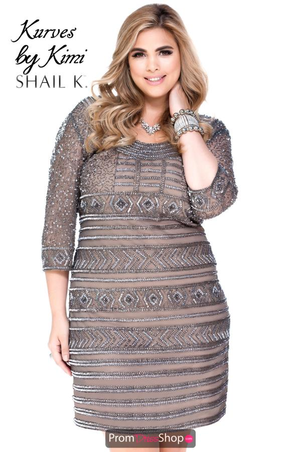 Shail K Long Sleeved Dress 1016X