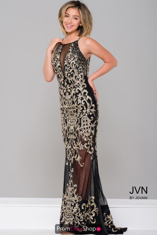 Long Beaded JVN by Jovani Dress JVN36766
