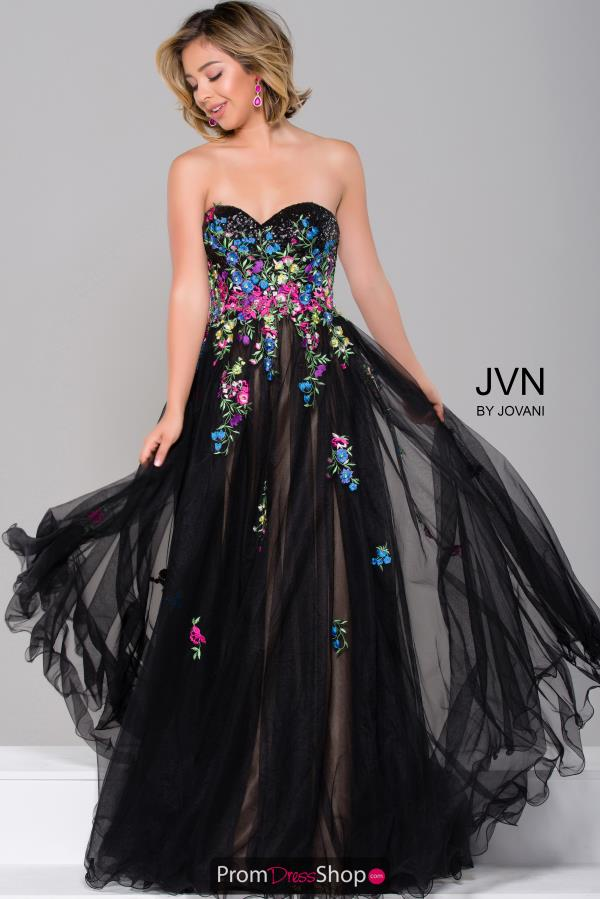 JVN by Jovani Sweetheart Neckline Long Dress JVN41428