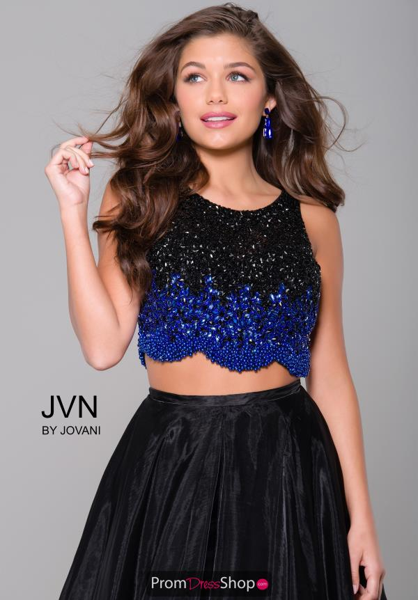 JVN by Jovani Long Organza Dress JVN45593