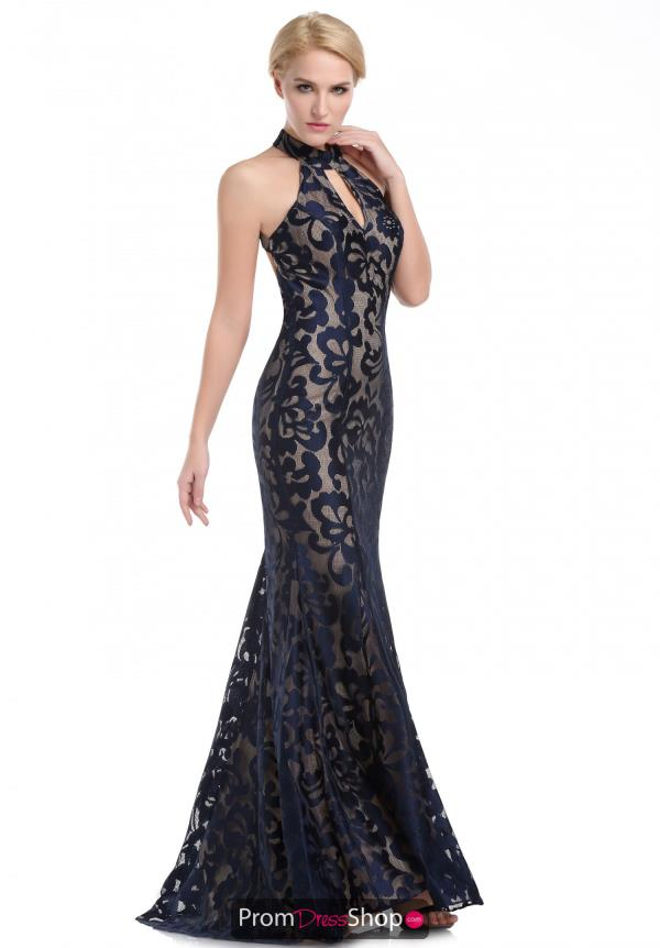 Romance Couture Lace Fitted FRN1500 Prom Dress