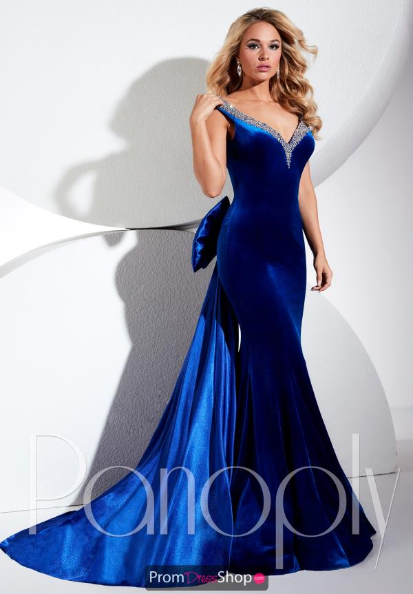 Long Fitted Panoply Dress 44287