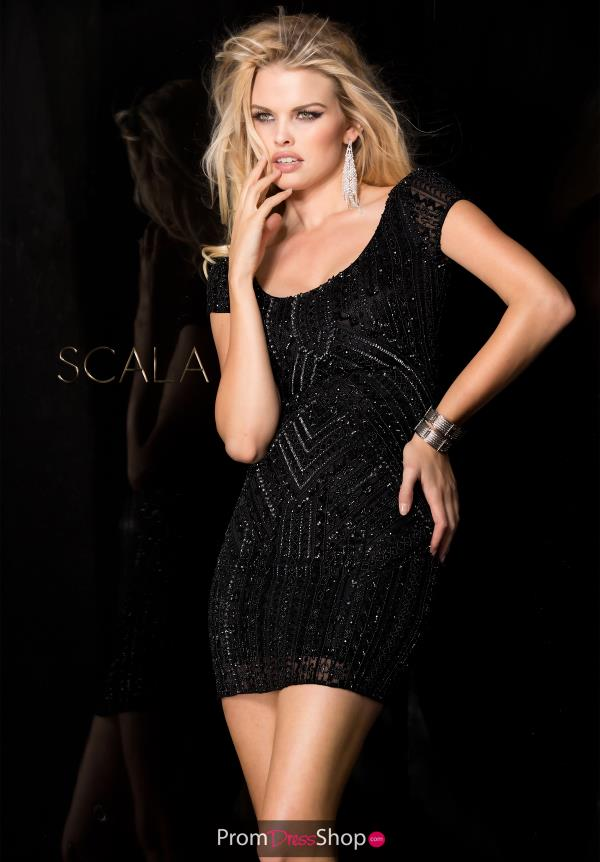 Scala Short Fitted Dress 48599