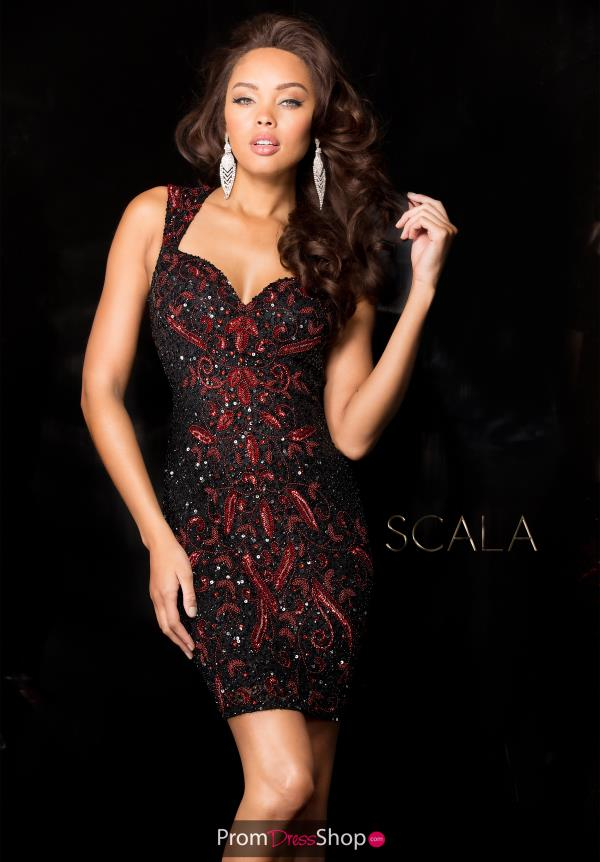 Scala Beade Short Dress 48624