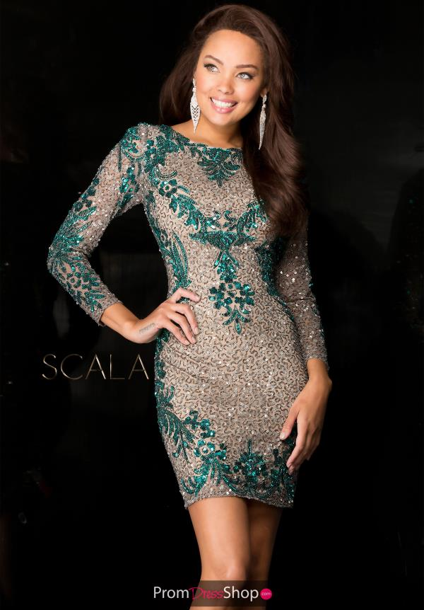 Scala Short Fitted Dress 48645