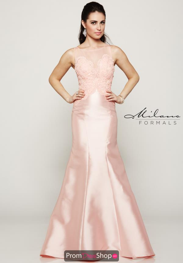 Milano Formals High Neckline Mermaid Dress E2017