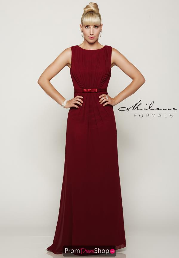 Milano Formals Long Fitted Dress E2086