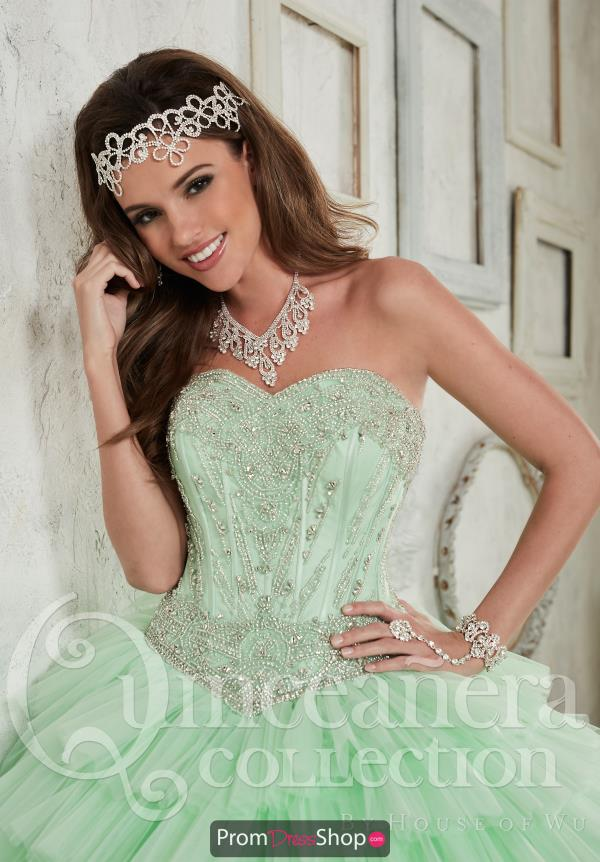 Strapless Beaded Tiffany Quince 26836 Dress