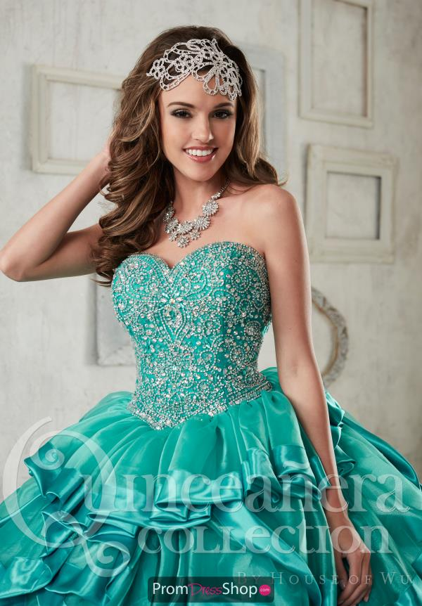 Strapless Ball Gown Tiffany Quince 26840
