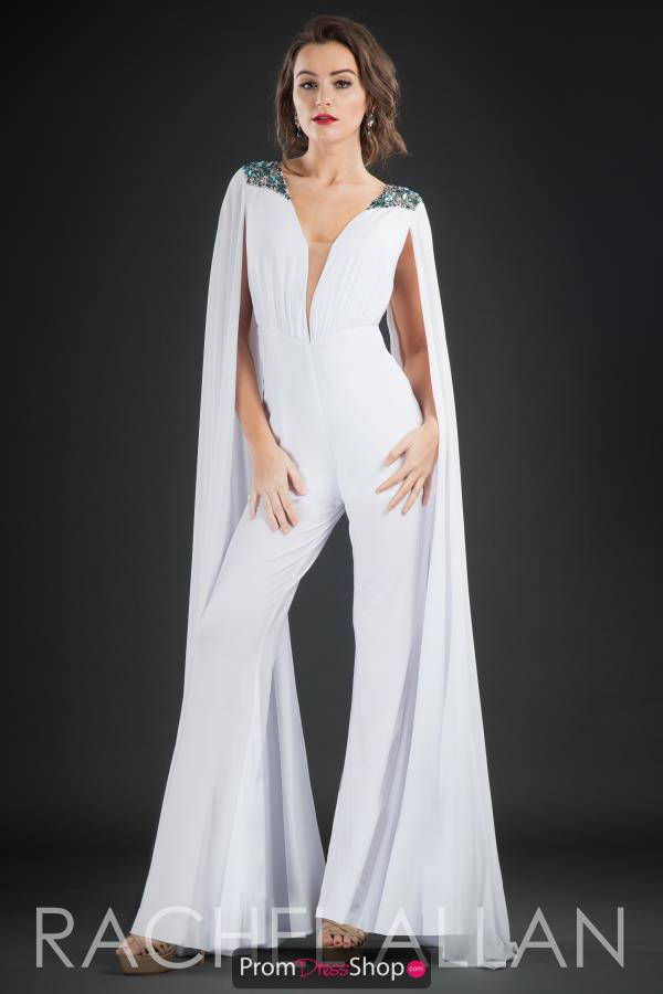 Rachel Allan Sleeved Jumpsuit 8199