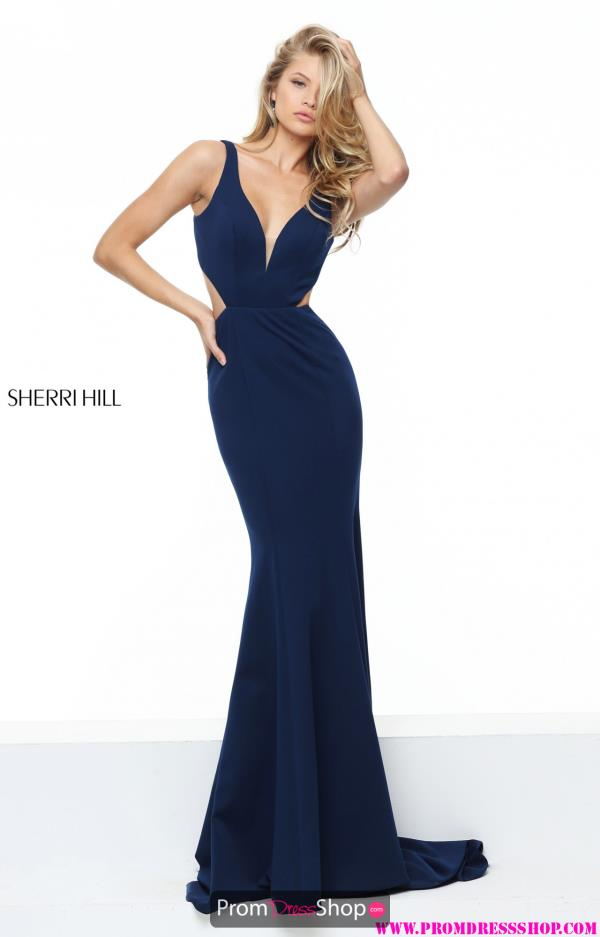 Sherri Hill Sexy Fitted Dress 50753