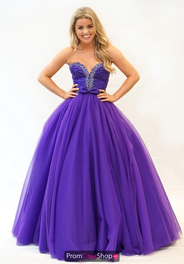 Sherri Hill Tulle A Line Dress 21367