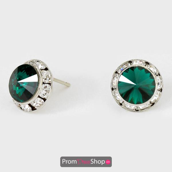 Emerald Earrings style CRE1139
