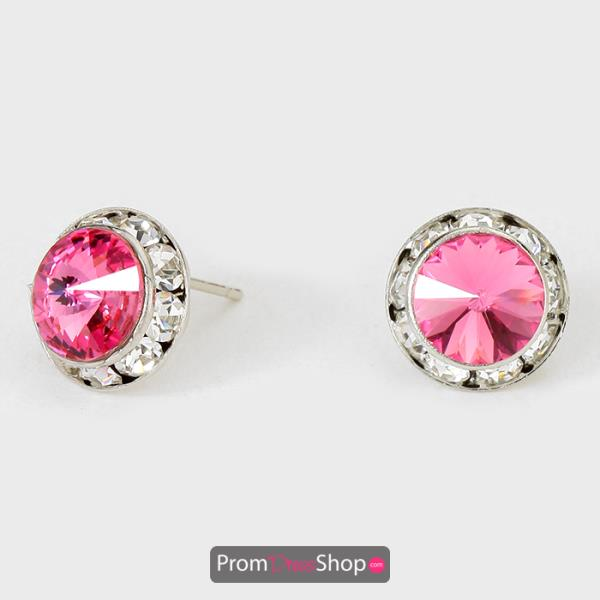 Pink Earrings style CRE1147