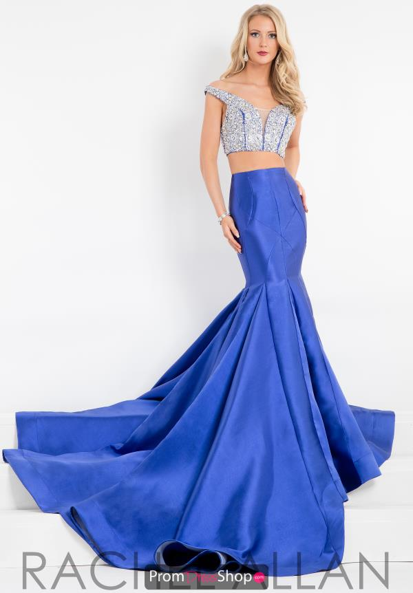 Two Piece Mermaid Prima Donna Pageant Dress 5877