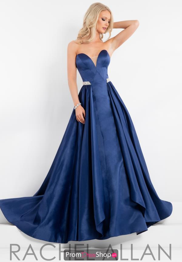 Prima Donna Pageant Satin Strapless Dress 5880