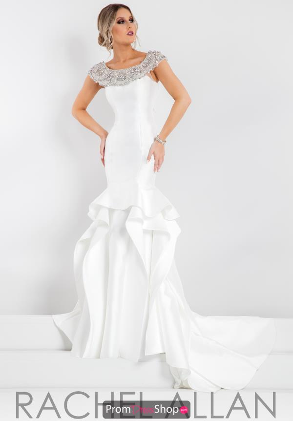 Cap Sleeved Beaded Prima Donna Pageant Dress 5891