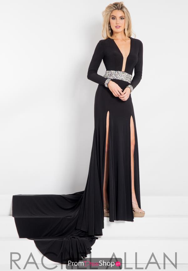 Prima Donna Pageant Long Sleeved Fitted Dress 5899