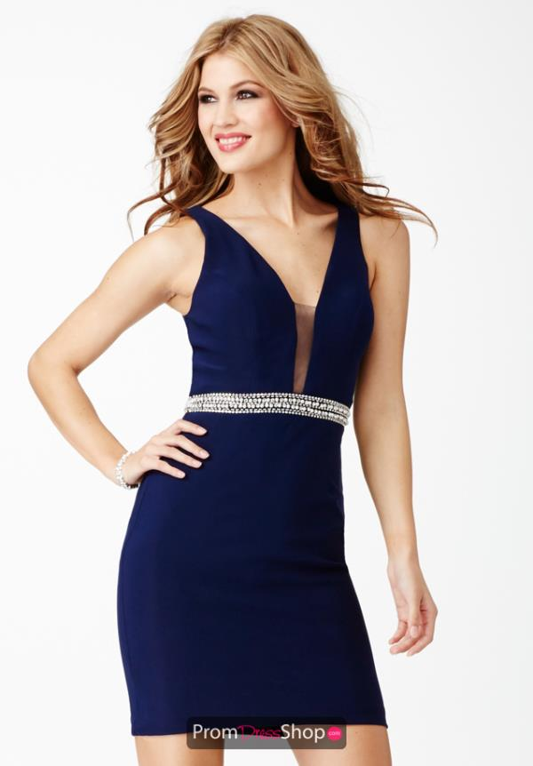 Two Straps Jersey JVN by Jovani Dress JVN27604