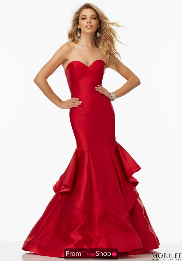 Mori Lee Sweetheart Neckline Fitted Dress 99004