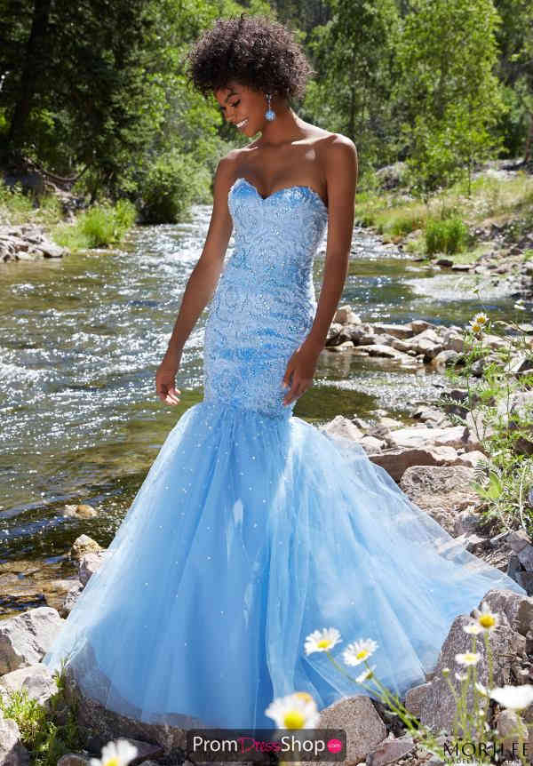 Sweetheart Neckline Mermaid Mori Lee Plus Dress 99026