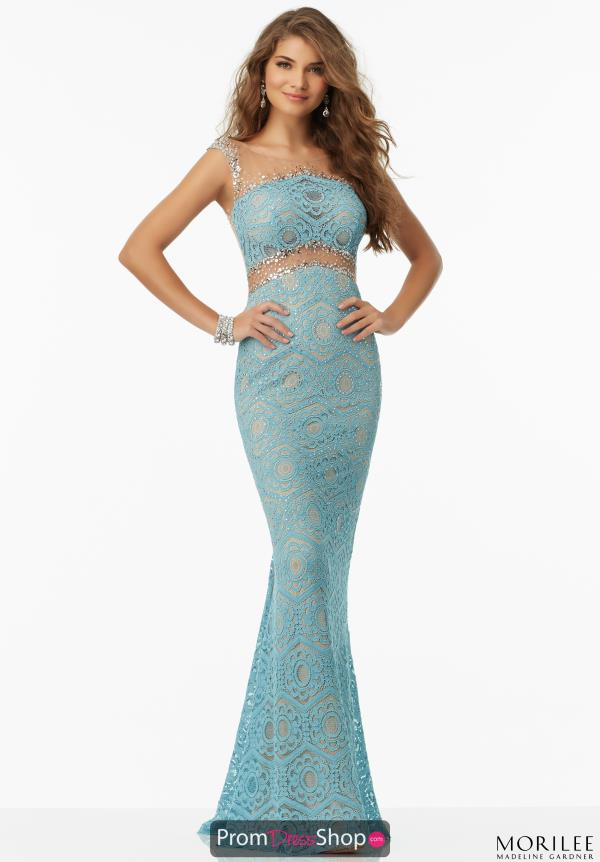 Mori Lee Long Fitted Dress 99030