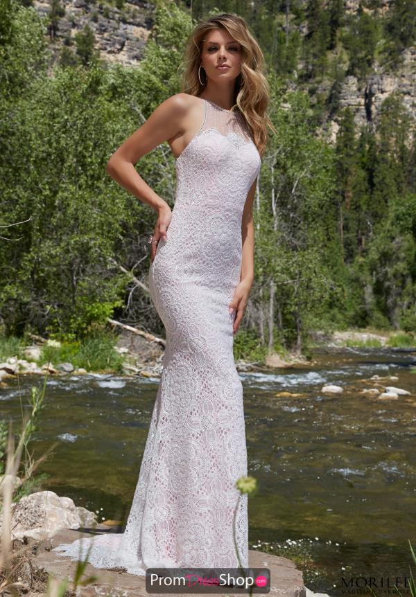 Long Beaded Mori Lee Dress 99034
