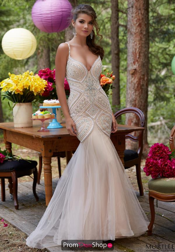 Mori Lee Sweetheart Neckline Fitted Dress 99122