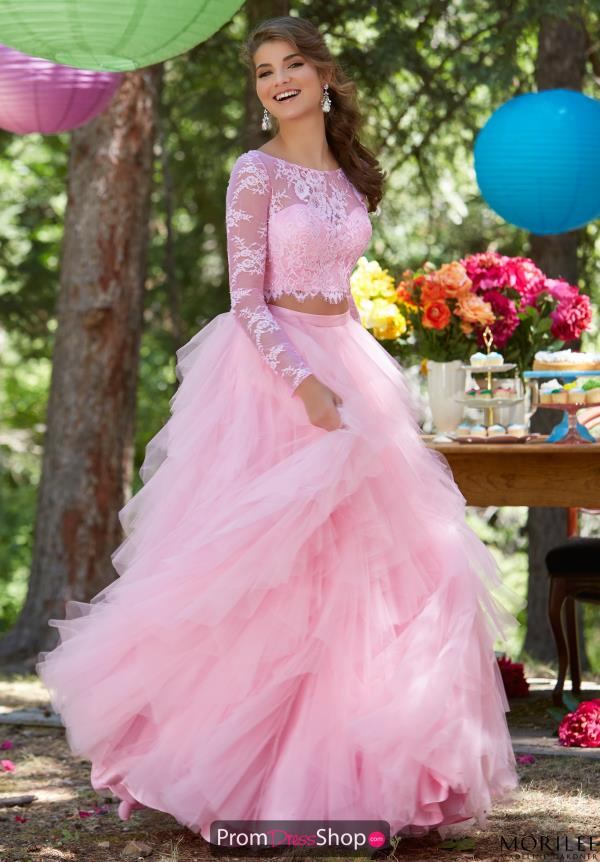 Beaded Sweet 16 Long MoriLee Dress 99124